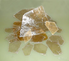 transparent mica of flake mica sheet
