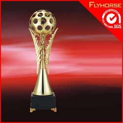high quality Mini wooden designs champions league cup crystal trophy