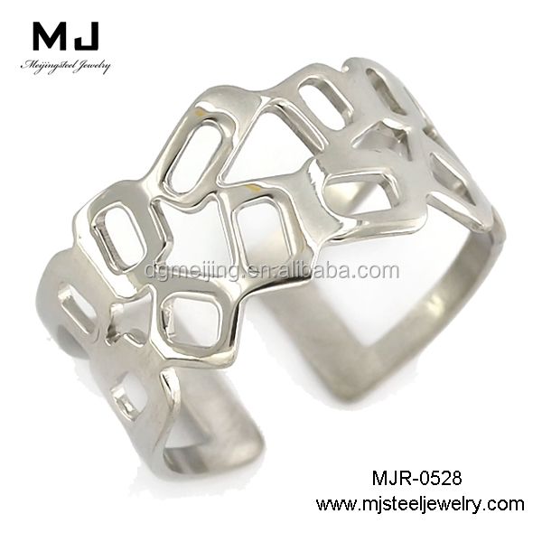 High quality cheap wholesale stainless steel locking ring(MJR-0528)