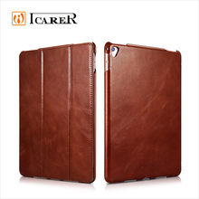 ICARER Genuine Leather for iPad pro 12.9 inch with smart wake up and sleep down