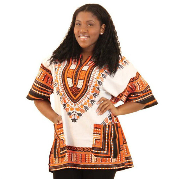 China clothing factory readymade african wholesale dashiki style shirts in cheap price