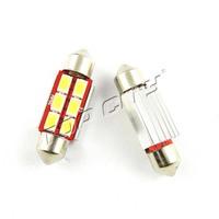 CANBUS Error Free Festoon 14.5V 5630 6SMD LED Dome License Plate Parking led Light bulb