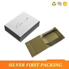 High class customized collapsible storage paper packaging gift box with magnet