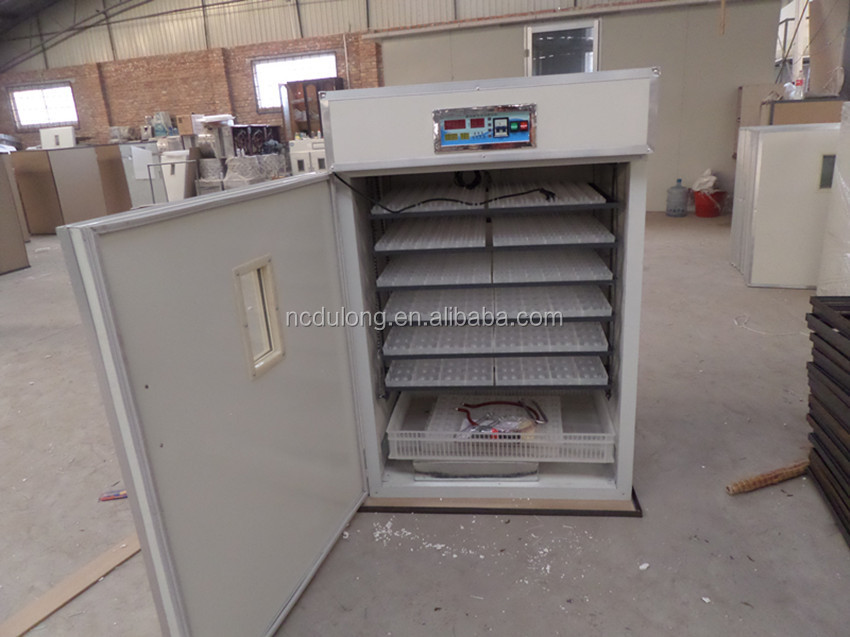 CE approved capacity 1056 chicken eggs full automatic egg incubator