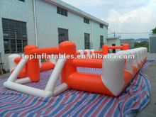 TOP inflatable soccer field,inflatable football playground ZQCYD01