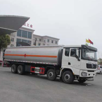 Heavy duty 8*4 Dongfeng chemical liquid tank truck For Sale