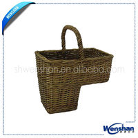 wholesale antique willow wicker baby baskets