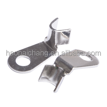 Customized ring type terminal crimp wire terminal / Round hole spade insert for