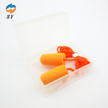 Bulk ear plugs oranage earplugs with string