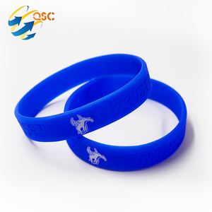 Hottest Products 2018 Custom Silicone Rubber Bracelet