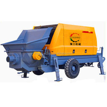 electric diesel engine used concrete pump trucks sale with CE certificated for sale