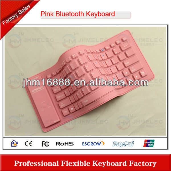 flexible portable wireless bluetooth keyboard for iphone 4