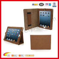 Flip Stand Cover With Elastic Hand Strap Case For Ipad Mini Ipad 3&4 - Automatically Wakes