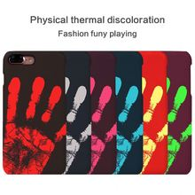 "Temperature Sense Hot Change Color Back Cover For Samsung Galaxy S2 i9100 S II 4.3"" Case Thermal Sensor Heat Sensitive Case"