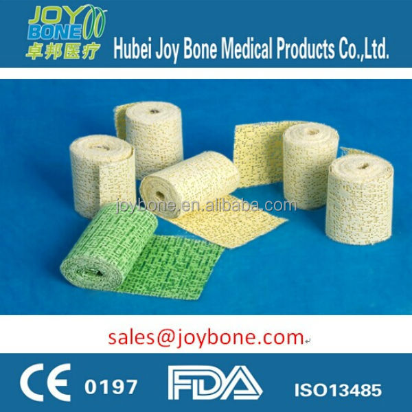 medical plaster of paris bandage/POP bandage/medical plaster bandage/ Craft Plaster