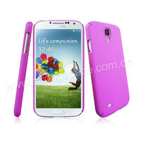 Pink colored cell phone case for Samsung S4 i9500