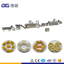 Economic sala bugle fried wheat flour food processing machine fried snack plant price