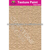 Khaki asian paints texture with multi-layer coating for buildings with concrete surface