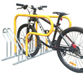 High Density Compact Cycle Rack with Locking Bars