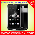 Blackview BV8000 PRO 5 Inch Octa Core 6GB RAM 64GB ROM 16.0MP Camera Fingerprint Android IP68 Waterproof Rugged Smartphone