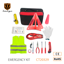 13PCS Printing Logo Booster Cable Road Safety Kit Emergency Car Kit Car Accessories Roadside Emergency Kit