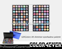Top quality Professional 120 shimmer colors Makeup Eyeshadow Palette 2014 highest demand products