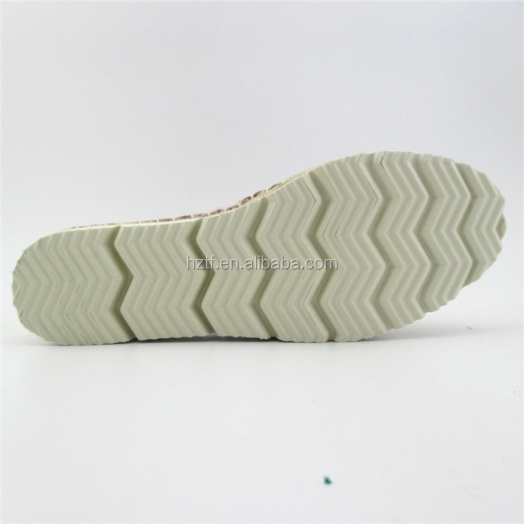 Wholesale cheap pictures casual leather ladies shoes