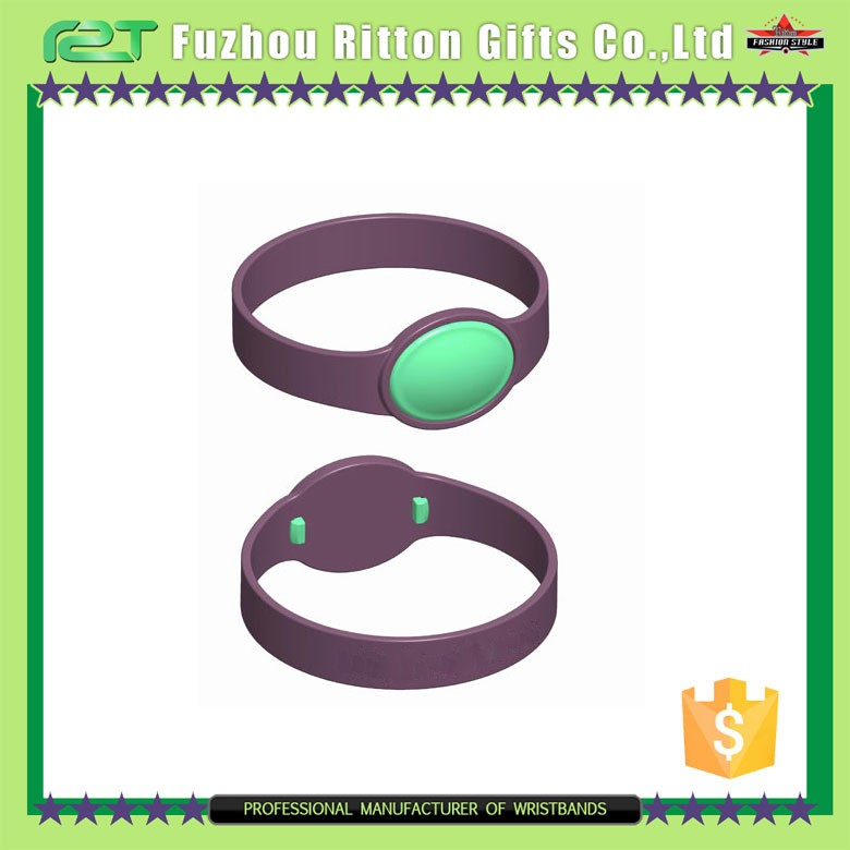 Popular smart silicone bracelet for events