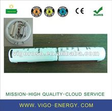NICD rechargeable battery pack for ceiling emergency lamp