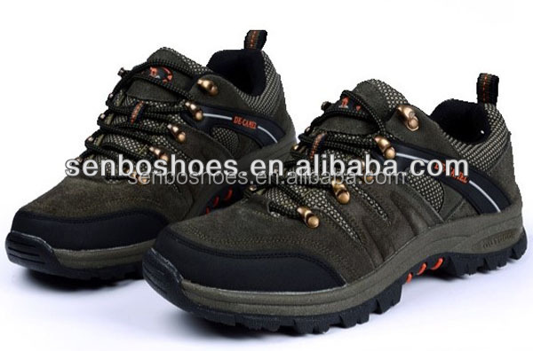 High quality brand outdoor hiking men's trail shoes