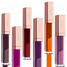 Make Your Own Brand Hot Selling 102 Colors Matte Liquid Lip Gloss Long Lasting Glitter Lipstick