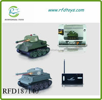 New product military model toy wireless rc tank mini rc tank