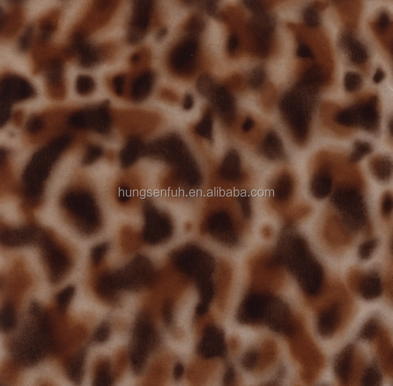 Animal fur/skin pattern heat transfer film