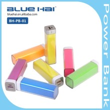 New Rohs Product Disposable Mobile Charger Portable Power Bank 2600mah