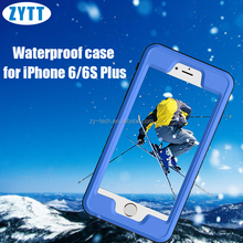 Waterproof Shockproof DirtProof Smart Phone Cases Wallet Case for iphone 6S plus Camera Underwater Case