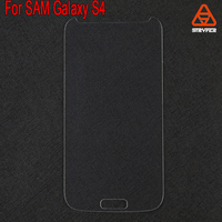 High sensitive 0.33MM thickness Japan Asahi phone for Samsung Galaxy S4 tempered glass screen protector
