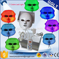 face skin care pdt led light mask acne removal facial mask