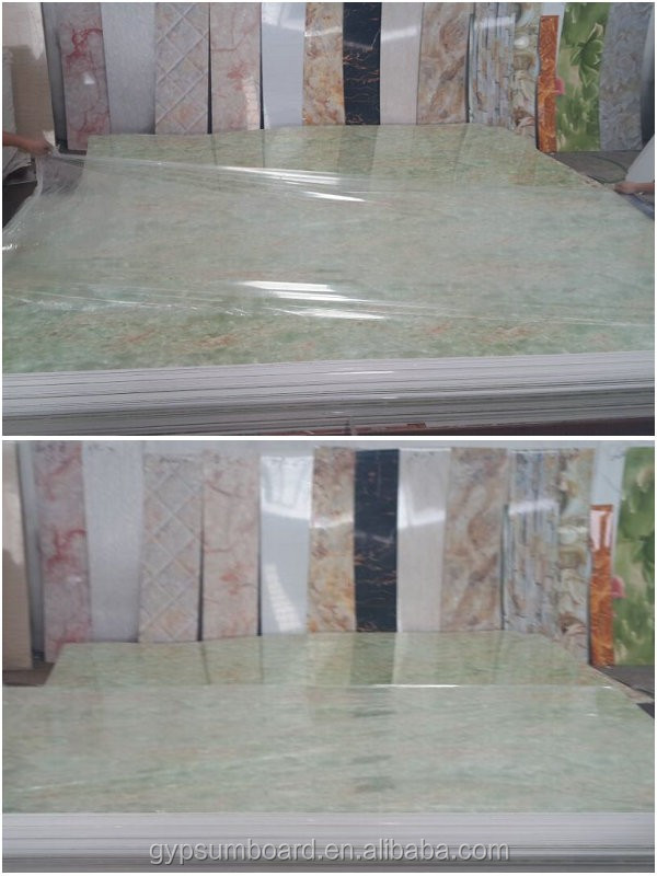 High glossy uv protected sheets/uv protected sheets-- High quality waterproof 4x8 pvc board pvc ceiling board