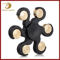 New Design Fidget Spinners Unique Crazy Game Brass Plastic Hexagonal Hand Spinner Toys