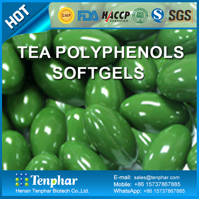 Catechin Green Tea Polyphenol Slimming Softgel