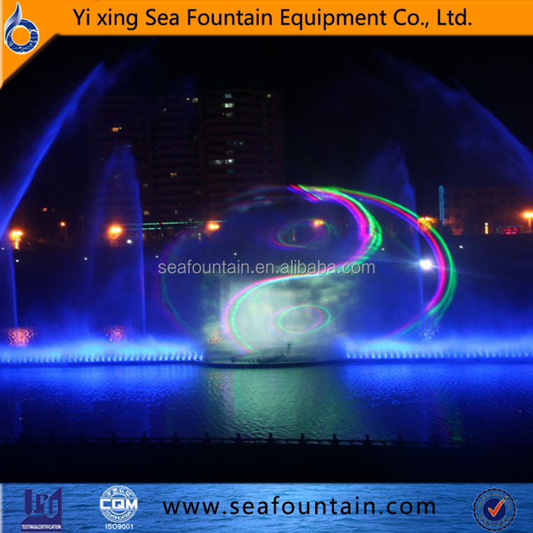 Outdoor garden water features floating water fountain sales control system