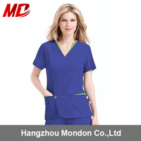 exporting environmental protection material fashionable nurse uniform designs