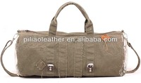 Hot sell vintage encryption canvas duffel bag