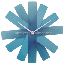 High quality plastic propeller wall clock wholesale