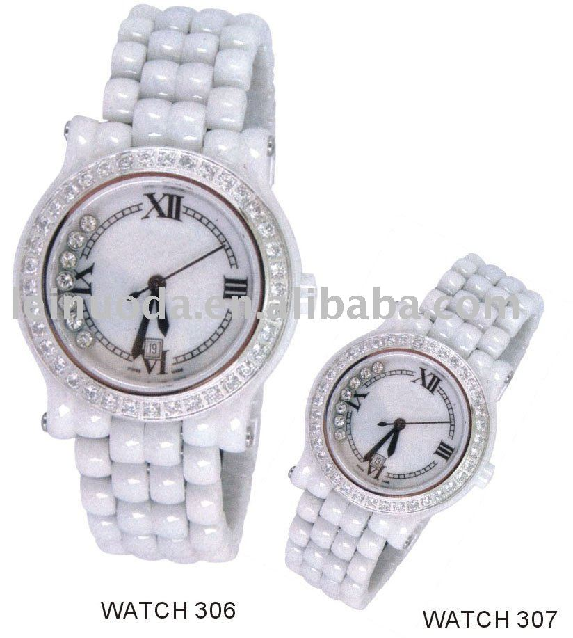 ladies watch, women watch with crystal stones