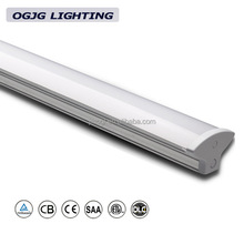 T8 fluorescent replacement retail store 4ft IP40 LED strip ceiling fixtures supermarket double tube LED batten light fitting