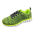 Wholesale Green Cotton Knit Running Shoe Fabric For Shoes