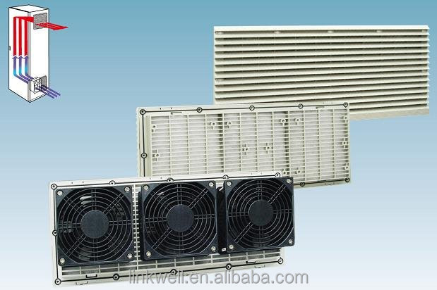 electric fan motor Air filtration filter equipment for cabinet