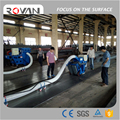 High efficiency movable floor shot blasting machine for concrete surface cleaning