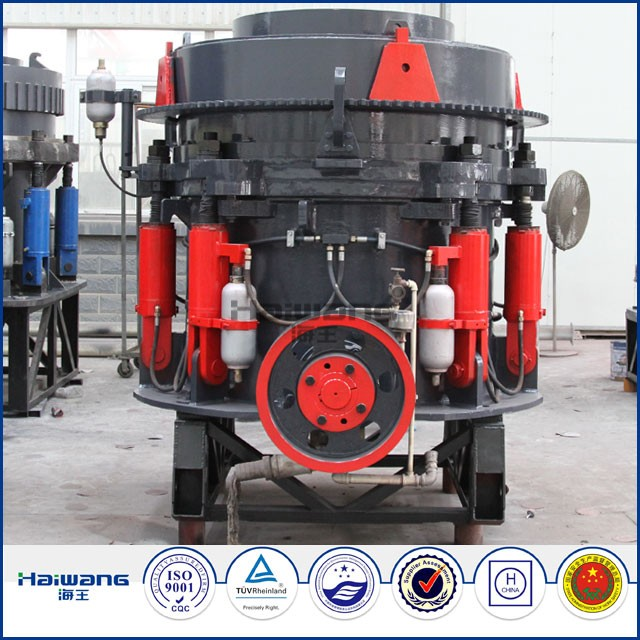 Haiwang Metal Crusher Machine / Cone Crusher For Mine